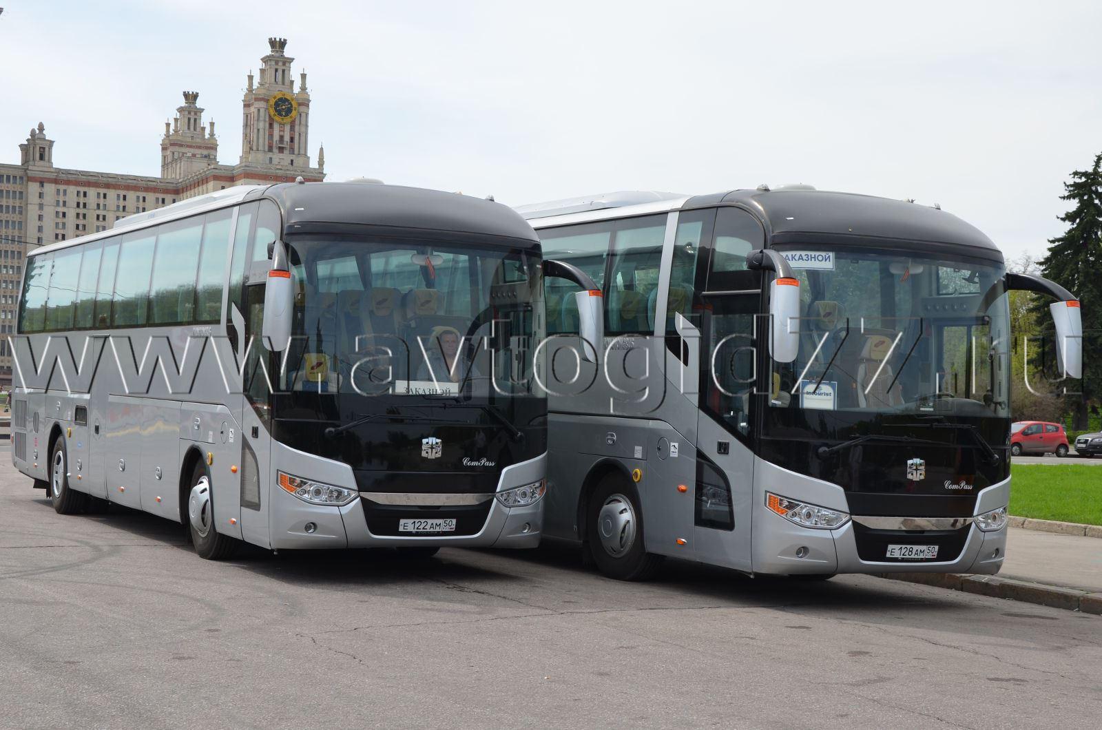 новые автобусы вольво